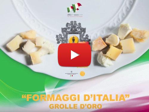 Video dimostrativo del libro FORMAGGI D'ITALIA - grolle d'oro